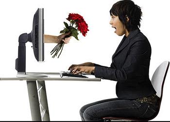 به دنبال همسر اينترنتي