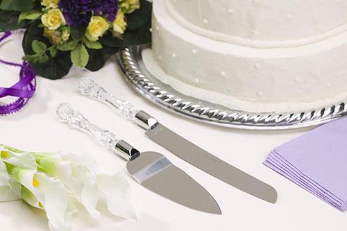 زیباترین تزیین چاقو کیک