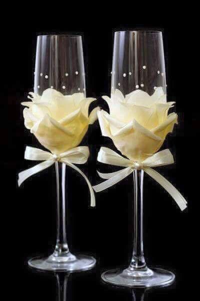 تزئینات جام عسل برای سفره عقد