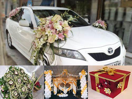 تزئینات عقد و سفره عقد و عروسی