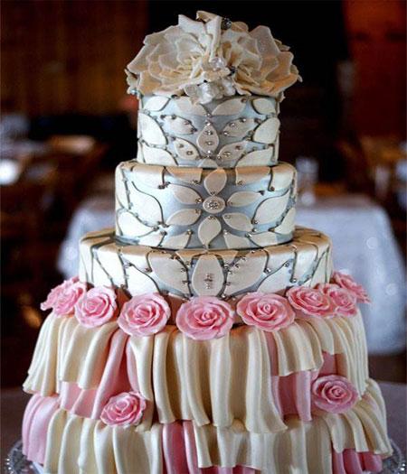 مدل کیک عروسی-تصاویر کیک عروسی