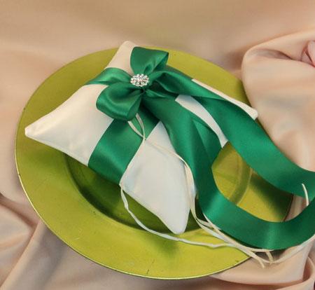 تزیین جا حلقه عروس و داماد - تزئینات عقد و عروسی