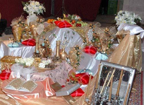تزئینات عقد و عروسی