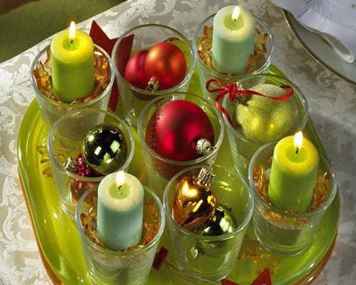 شمع آرایی-تزئینات شمع
