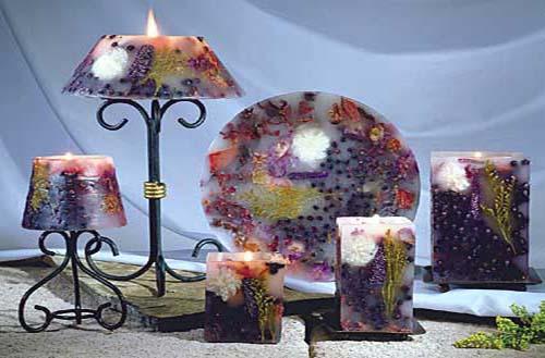 شمع آرایی-تزیینات شمع
