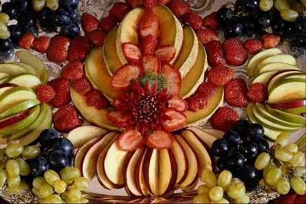 تزئیتات میوه آرایی سفره عقد-تزیین میوه آرایی