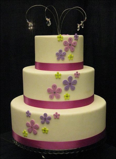تزیین کیک عروسی - جدیدترین مدل کیک عروسی