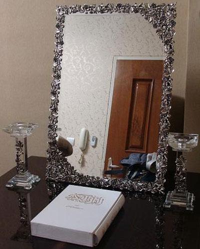 آیینه و شمعدان-آیینه و شمعدان سفره عقد