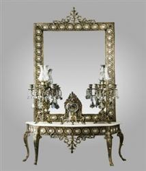 آینه و شمعدان سفره عقد
