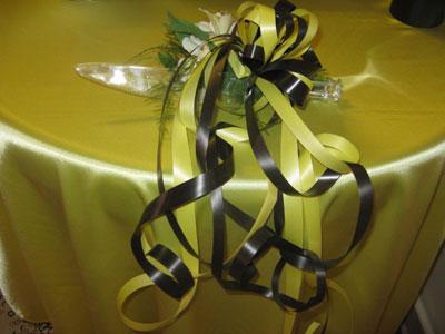 تزئینات چاقوی کیک سفره عقد