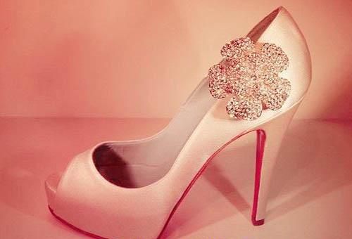 مدل کفش عروس پاشنه بلند