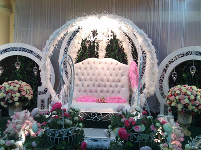 جایگاه عروس و داماد 2015